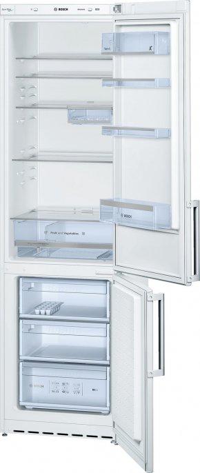 Полезное - Белый холодильник с нижней морозильной камерой BOSCH KGE39AW25R